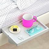 BedShelfie The Original Bedside Shelf - AS SEEN ON Business Insider (Original Size, Light Grey)