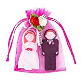 Mr & Mrs USB 3.0 Flash Drives 16GB 2-Pack Wedding Gifts for The Couple Unique Thumb Drives 2 x 16 GB, Carrying Happy Moments Insides for Wedding Day