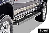 APS iBoard Running Boards 5' Custom Fit 2009-2018 Ram 1500 Crew Cab Pickup 4Dr (Incl. 2019 Ram 1500 Classic)& 2010-2019 Ram 2500/3500 (Nerf Bars | Side Steps | Side Bars)