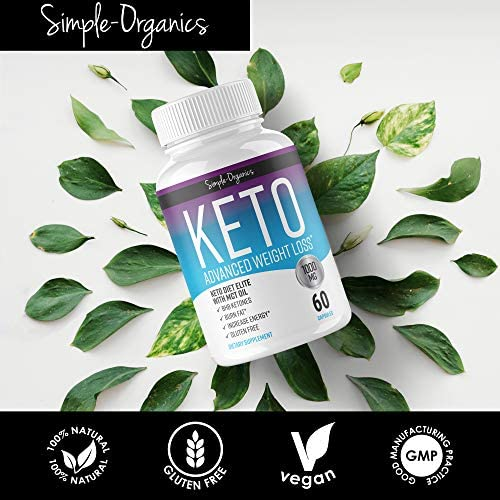 Keto Diet Pills 1000 Mg- Advanced Weight Loss Supplements- Burn Fat Instead of Carbs- 30 Day Supply 4