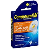 Compound W Maximum Stregth One Step Plantar Foot Pads,20 ea