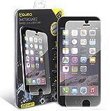 iPhone 8 Plus/iPhone 7 Plus Tempered Glass Screen Protector - Aduro Shatterguardz Anti-Scratch, Anti-Fingerprint Coating, Ultra-Sensitive Touch Tech for Apple iPhone 8/7 Plus