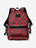 Victoria Secret Pink Bling Campus Backpack Red Plaid