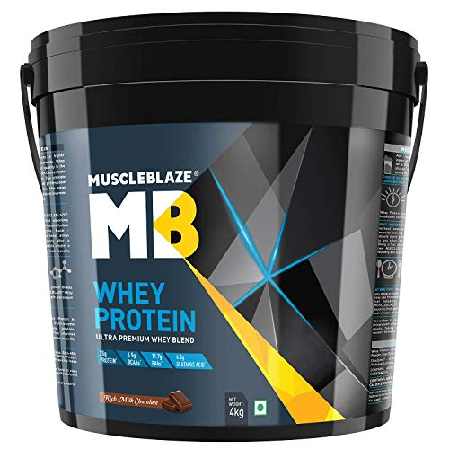 MuscleBlaze Whey Protein with 60 Tabs MB Vite