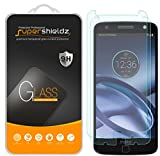 [2-Pack] Supershieldz for Motorola Moto Z/Moto Z Droid Tempered Glass Screen Protector, Anti-Scratch, Anti-Fingerprint, Bubble Free, Lifetime Replacement