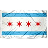 Sports Flags Pennants Company City of Chicago Flag 3x5 Foot Banner