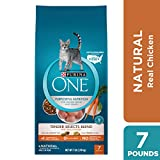 Purina ONE Natural Dry Cat Food, Tender Selects Blend With Real Chicken - 7 lb. Bag