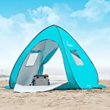 WolfWise UPF 50+ Easy Pop Up Beach Tent Sun Shelter Portable Baby...
