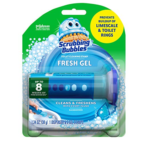 Scrubbing-Bubbles-Fresh-Gel-Toilet-Bowl-Cleaning-Stamps-Gel-Cleaner-Helps-Prevent-Limescale-and-Toilet-Rings-Rainshower-Scent-6-Stamps