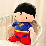 1pcs 70cm Superman Big Plush Anime Cute Giant Large Stuffed Comics Hero Soft Plush Toy Doll Pillow Cushion XMAS Gift