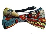 """Superman Bow Tie Cotton Adult 4.5"""" x 2.5"""""""