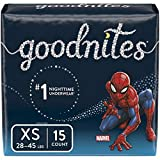 Goodnites Bedwetting Underwear for Boys, XS (28-45 lb.), 15 Ct, Jumbo Pack (Packaging May Vary)