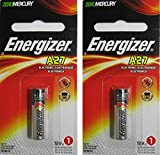 Pack of 2 x 27A A27 G27A B-1 L828 CA22 GP27A Battery 12V