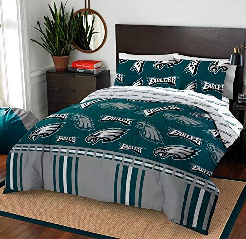 Philadelphia Eagles Full Comforter & Sheet Set, 5 Piece NFL Bedding, New!