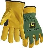 West Chester John Deere JD00008 Top Grain Deerskin Leather Driver Work Gloves: X-Large, 1 Pair