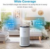 LEVOIT-Air-Purifier-for-Home-Large-Room-with-H13-True-HEPA-Filter-Air-Cleaner-for-Allergies-and-Pets-Smokers-Mold-Pollen-Dust-Quiet-Odor-Eliminators-for-Bedroom-Smart-Auto-Mode-LV-H133