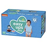 Pampers Easy Ups Training Underwear Boys Size 6 4T-5T 104 Count