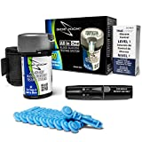 Sidekick All-in-One Glucose Meter Kit - Built in Meter, 50 Test Strips, Lancing Device, 10 Lancets, Control Solution, and GoPak