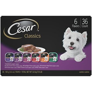 Cesar Gourmet Wet Dog Food Variety Packs - 36 Trays 6