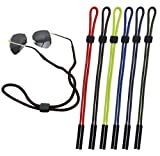 CandyHome 6 Pcs Sunglass Glasses Holder Strap Eyewear Retainer Cord Lanyard
