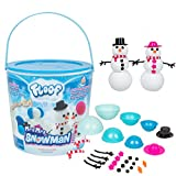 Play Visions Floof Modeling Clay - Reuseable Indoor Snow - Mr. & Mrs Snowman Set With Endless Creations and 22 Molding Accessories