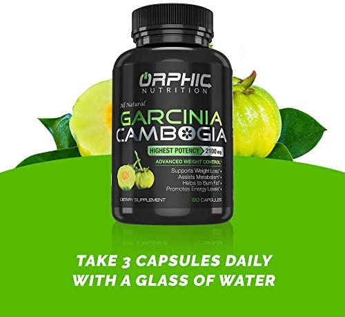 100% Pure Garcinia Cambogia Extract - Appetite Suppressant - Carb Blocker Capsules - 2100 MG - 90 Caps 7