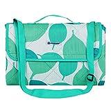 "SONGMICS Picnic Blanket Machine Washable Beach Mat Water-Resistant Portable Outdoor Blanket 77"" x 59"" UGCM80JW"
