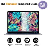 Glass Screen Protector Compatible MacBook Air 13 Inch 2018 Model A1932 & New MacBook Pro 13 Inch Model A1706 A1708 A1989, 9H Hardness with Ultra Thin 0.15mm Thickness
