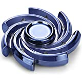 Fidget Spinner Toy Hand Spinner Fidget Toy High Speed Between 5-8 Minutes Spin Time Perfect For ADHD, Anxiety And Boredom Adult Children Style A Blue
