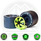 MADD GEAR - DRIFT TRIKE REPLACEMENT REAR WHEELS SET - Black Green - World's #1 Pro Scooter Brand - Built to Last! Madd Gear Est. 2002