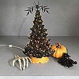 Halloween Ceramic Tree.15 inches tall, orange colored twist