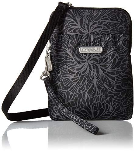 Baggallini-Womens-Bryant-Pouch-with-RFID-Midnight-Blossom
