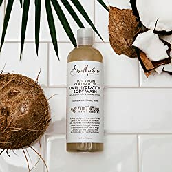 Shea Moisture 100% Virgin Coconut Oil Daily Hydration Body Wash 13 oz  Image 5
