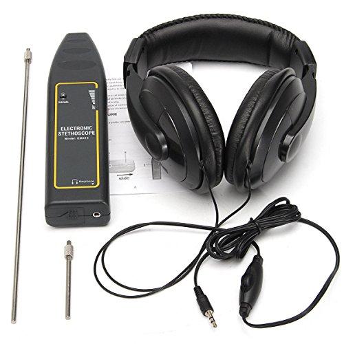 QUAKOI Electronic Stethoscope Earphone Leak Detector Water Pipe Detection Equipment Kit