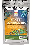 Shifa Sugar Control Tea (Turmeric and Fenugreek): Herbal Formula for Sugar Balance and Metabolism with Phytonutrients and Antioxidants - 1.75 oz.