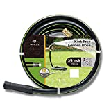 """3/4'"""" 50ft. No-Kink Tested Home & Contractor Approved Garden Hose - 12 Year Warranty - Extremely High Water Pressure with Solid Brass Fittings - Landscape Approved - Extremely Durable Hose"""