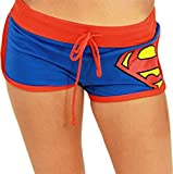 DC Comics Bioworld Superman Junior Fit Short Shorts - Size X-Large (X-Large)
