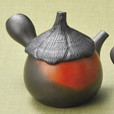 Japanese ceramic Tokoname ware. Kyusu teapot. 220cc