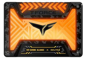 TeamGroup T-Force Delta S TUF RGB 250GB 2.5' SATA III 3D NAND Internal Solid State Drive SSD (12V) (250GB)