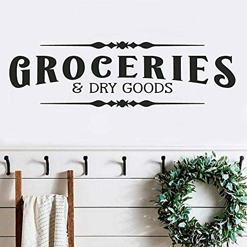 Spk-Sticker-Groceries-and-Dry-Goods-Pantry-Rustic-Farmhouse-Home-Wall-Decal-Words-Decor-Removable-Bedroom-Living-Room-Decoration