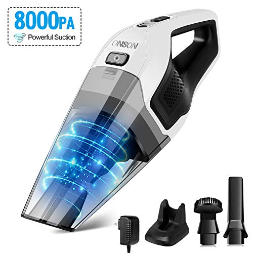 ONSON Hand Vacuum with Rechargeable Quick Charge