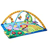 Tiny Love Gymini Super Deluxe Activity Gym Play Mat, Classic Animals