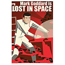 Mark Goddard is Lost In Space by Juan Ortiz Art Print Poster 12x18