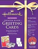 Hallmark Blank Greeting Cards Half-fold Matte Premium 20 Count