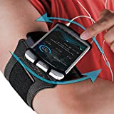 Sports Armband: Cell Phone Holder Case Arm Band Strap Pouch Mobile Exercise Running Workout For Apple iPhone 6 6S 7 8 X Plus Touch Android Samsung Galaxy S5 S6 S7 S8 S9 Note 8 5 Edge Pixel (Rotatable)