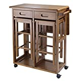 Winsome 39330 Suzanne Kitchen, Square, Teak
