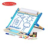 Melissa & Doug Deluxe Double-Sided Tabletop Easel (Arts & Crafts, Sturdy Wooden Construction, 42 Pieces, 17.5' H x 20.75' W x 2.75' L)