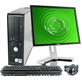 Dell OptiPlex Desktop Complete Computer Package with Windows 10 Home – Keyboard, Mouse, 17″ LCD Monitor(brands may vary) (Renewed) title