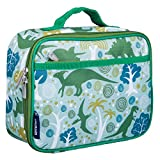Wildkin Lunch Box, Insulated, Moisture Resistant, and Easy to Clean with Helpful Extras for Quick and Simple Organization, Perfect for Kids or On-The-Go Parents – Dinomite Dinosaurs