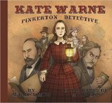 Cover art for KATE WARNE, PINKERTON DETECTIVE